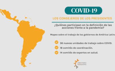 COVID- 19: Los consejeros de los presidentes