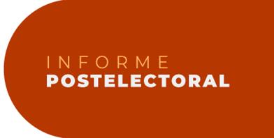 <h3>Informe Postelectoral</h3><h2>Publicación Periódica</h2><p>Información y análisis de las jornadas electorales en América Latina.</p>
